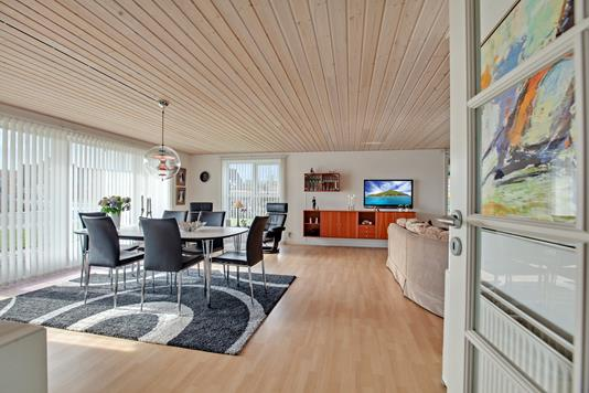 Villa på Damengvej i Brovst - Stue