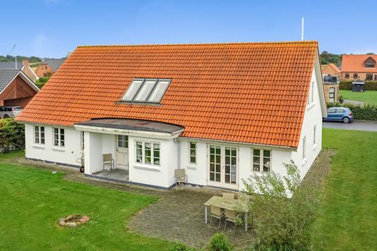 Villa på Gartnervænget i Vrå - Mastefoto