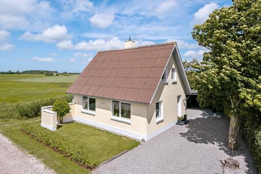 Villa på Kajholmvej i Vrå - Ejendommen
