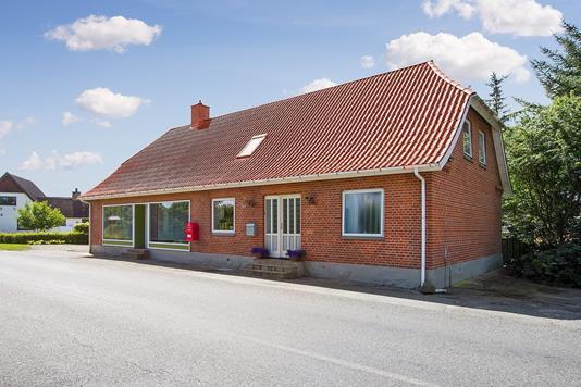 Villa på Holtevej i Vrå - Facade