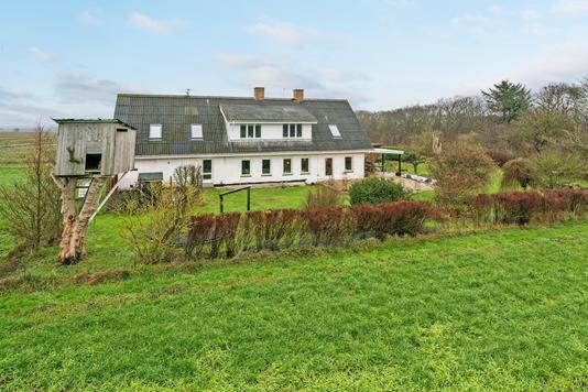 Villa på Borupvej i Vrå - Ejendommen