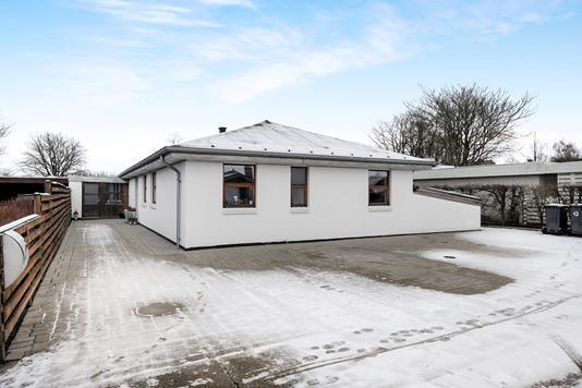 Villa på Jordbærvej i Aalborg - Facade