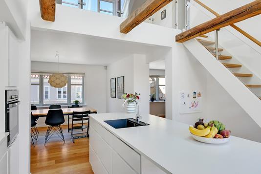 Villa på Mellemgade i Nibe - Køkken