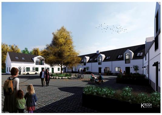 Rækkehus på Lille Bygaden i Aalborg - Projekt