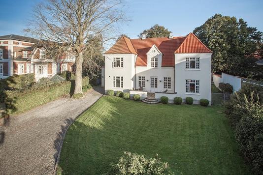 Villa på Rafns Alle i Aalborg - Facade