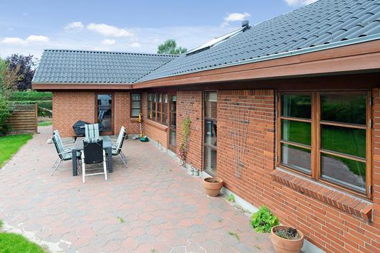 Villa på Tornbjerg i Hovedgård - Terrasse