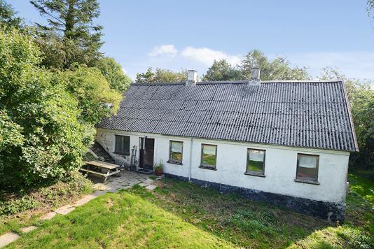 Villa på Hundshøjvej i Gedved - Ejendommen