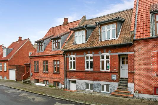 Rækkehus på Gothersgade i Horsens - Ejendommen