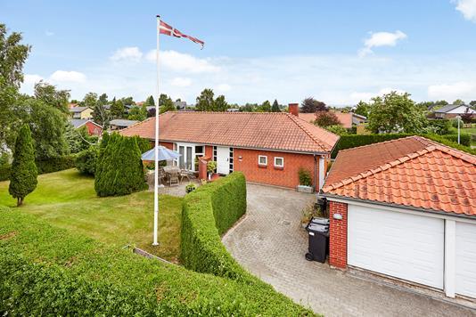 Villa på Kløverbakken i Horsens - Mastefoto