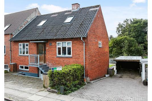 Villa på Frejasgade i Horsens - Ejendommen