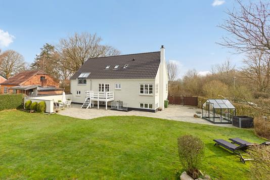 Villa på Skovvej i Gedved - Mastefoto