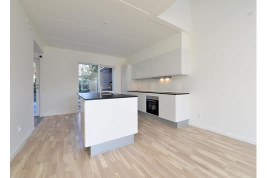 Villa på Elmetoften i Hasselager - Køkken