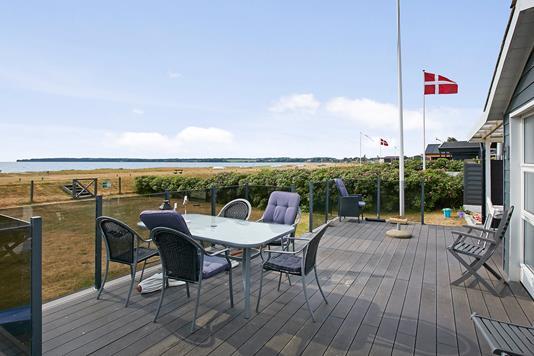Fritidsbolig på As Hedegård i Juelsminde - Terrasse
