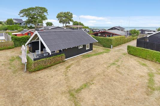 Fritidsbolig på As Hedegård i Juelsminde - Mastefoto