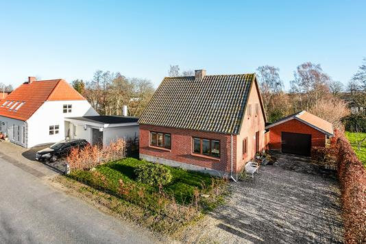 Villa på Lindegårdsvej i Juelsminde - Mastefoto