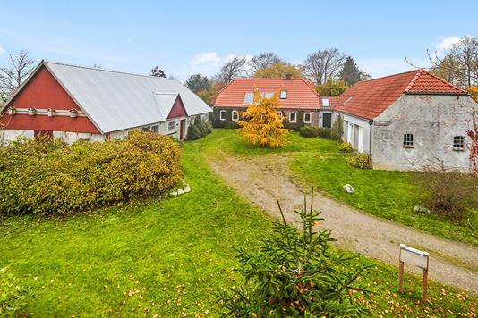 Villa på Ørnsvigvej i Barrit - Mastefoto