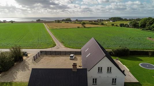 Villa på Klakringvej i Juelsminde - Luftfoto