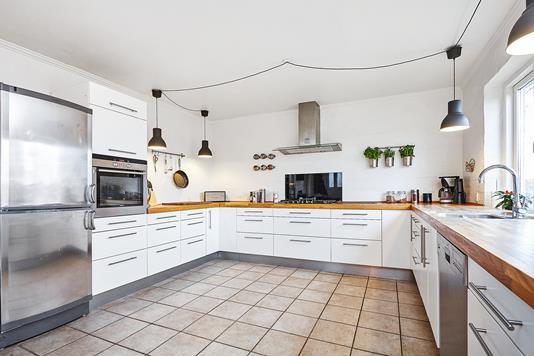 Villa på Glud Tværvej i Juelsminde - Køkken