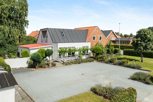 Villa på Juelsgade i Juelsminde - Ejendommen