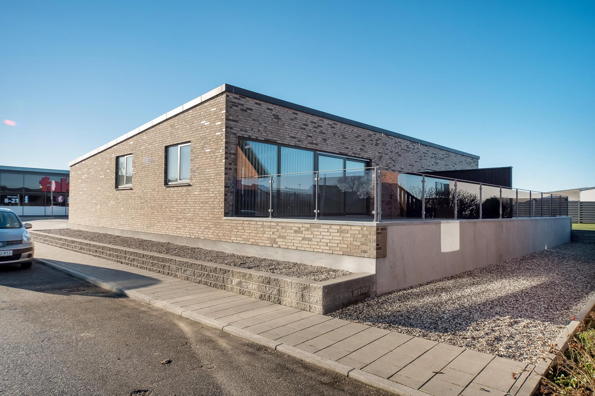 Rækkehus på Søgade i Juelsminde - Ejendommen