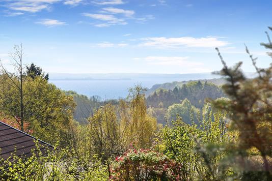 Villa på Skovsvinget i Hornslet - Udsigt