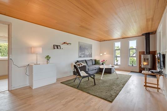 Villa på Nygårdsvænget i Rønde - Stue