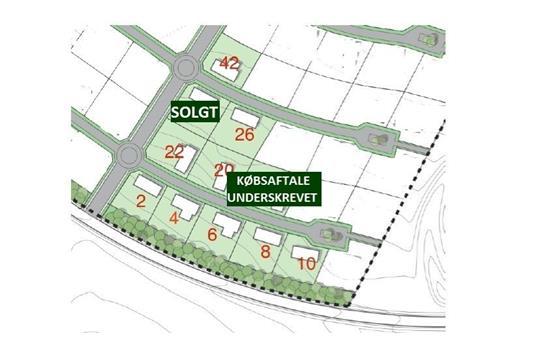 Helårsgrund på Præstegårdsvej i Hinnerup - Andet