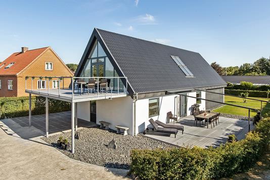 Villa på Egernvej i Hinnerup - Ejendommen