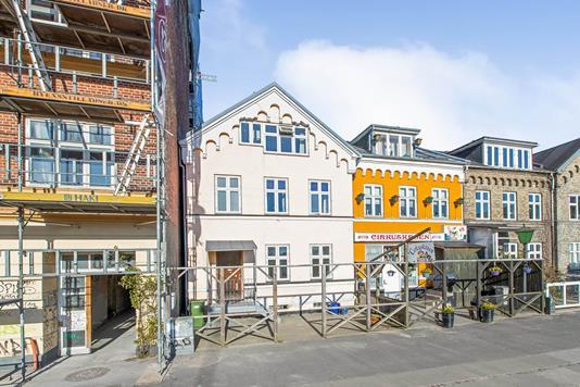 Rækkehus på Skovvejen i Aarhus C - Ejendommen