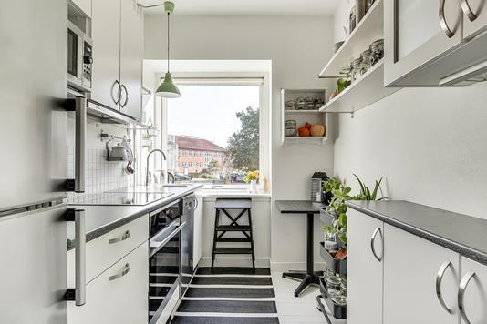 Ejerlejlighed på Tåsingegade i Aarhus N - Køkken