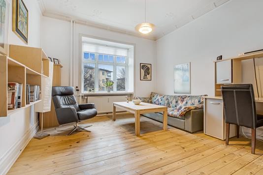 Ejerlejlighed på Hendrik Pontoppidans Gade i Aarhus C - Stue