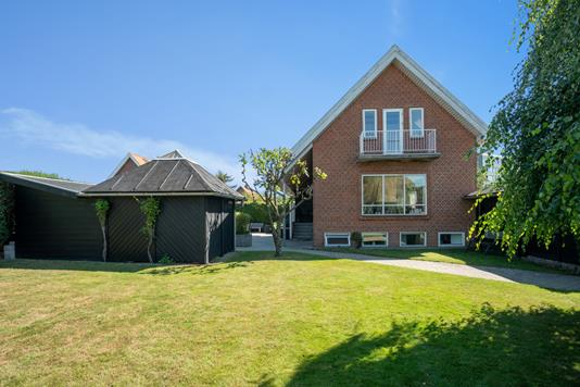 Villa på Randersvej i Aarhus N - Set fra haven