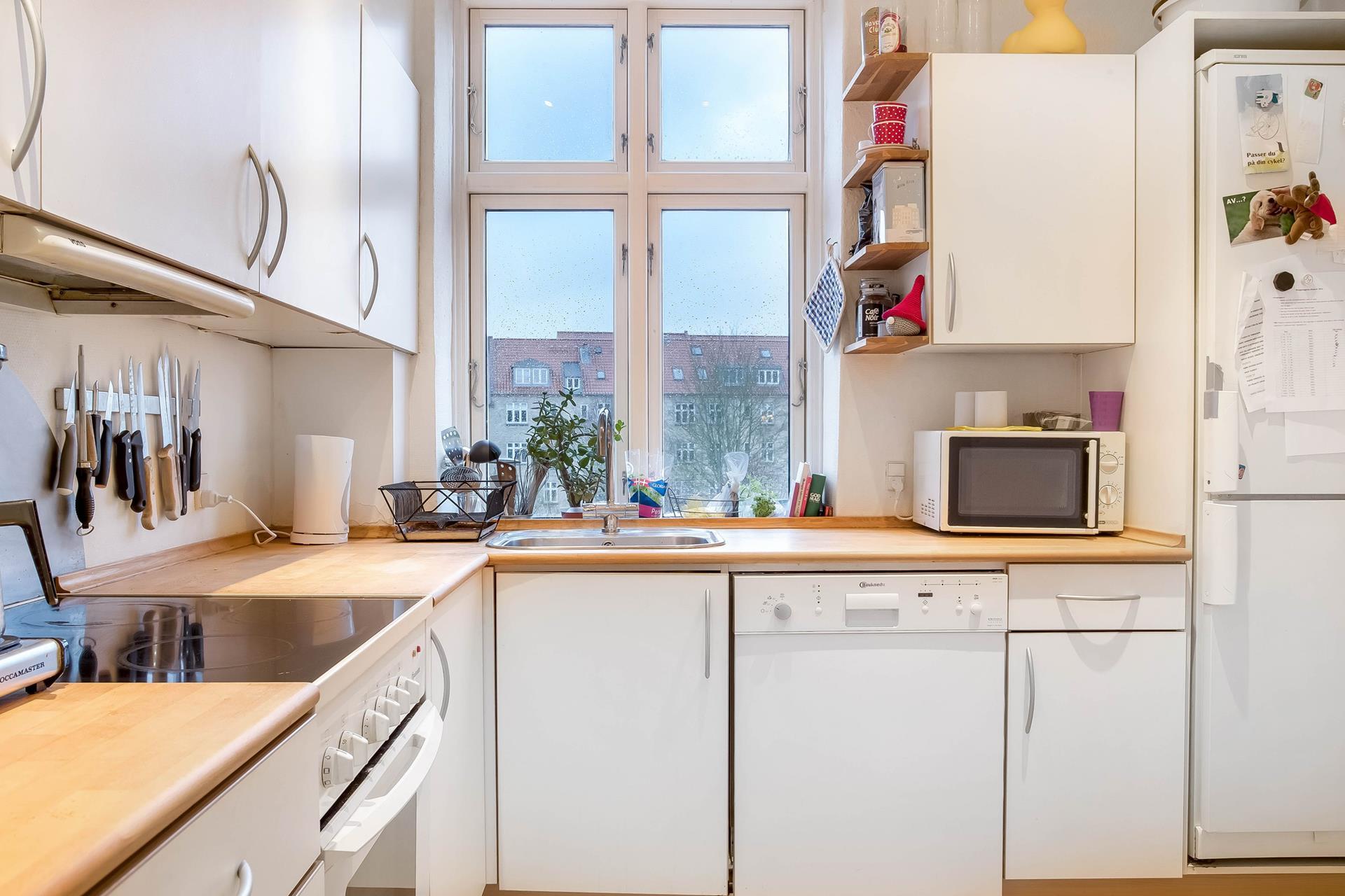 Villalejlighed på Tordenskjoldsgade i Aarhus N - Køkken