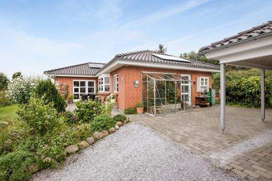 Villa på Granvangen i Brædstrup - Ejendommen