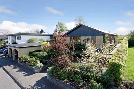 Villa på Søndermarken i Østbirk - Mastefoto