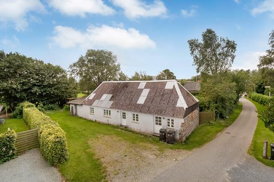 Villa på Skolebakken i Brædstrup - Mastefoto