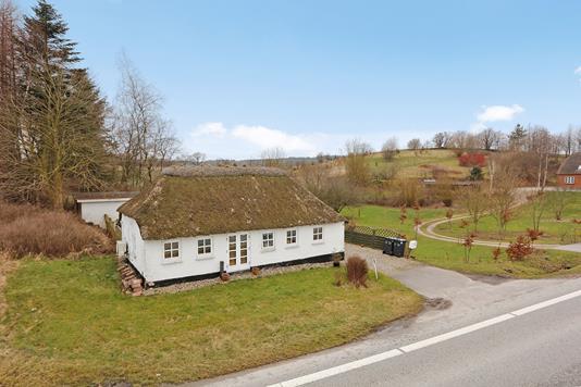 Villa på Hårupvej i Brædstrup - Mastefoto