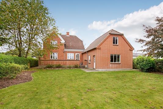Villa på Nørregade i Brædstrup - Ejendommen