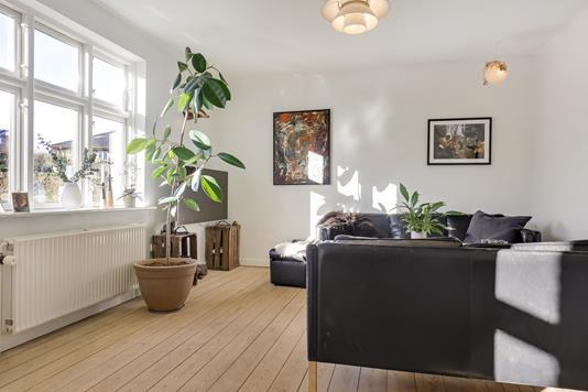 Villa på Søvejen i Østbirk - Stue