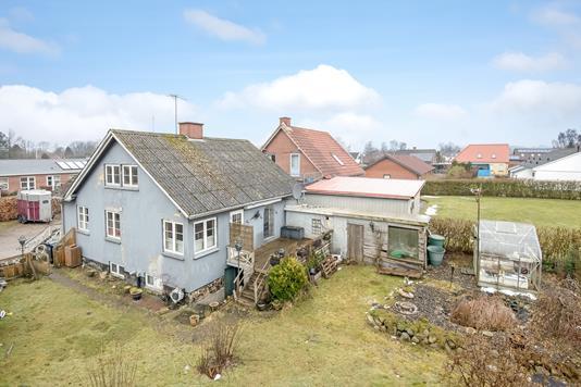 Villa på Toftegårdsvej i Brædstrup - Ejendommen