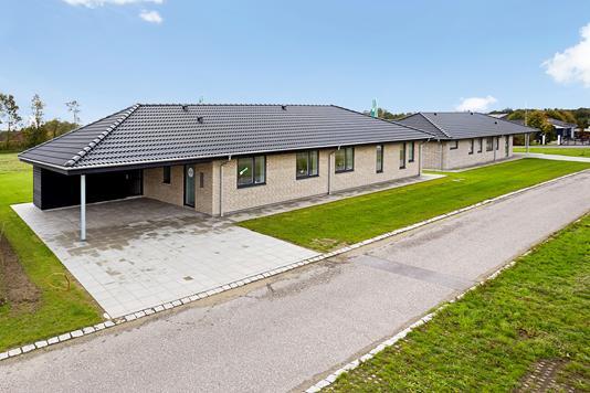 Villa på Galgehøj i Brædstrup - Mastefoto