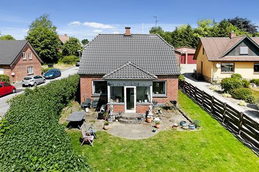 Villa på Møllegade i Brædstrup - Mastefoto