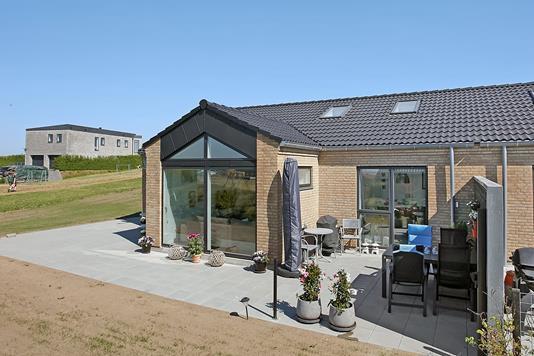 Villa på Østergade i Brædstrup - Terrasse