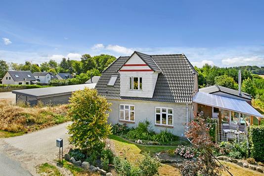 Villa på Slagballevej i Brædstrup - Mastefoto