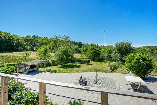 Villa på Vellingvej i Bryrup - Have