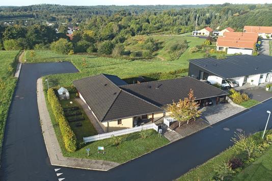 Villa på Skovvænget i Bryrup - Udsigt