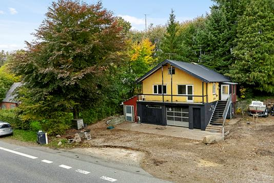 Villa på Silkeborgvej i Brædstrup - Mastefoto