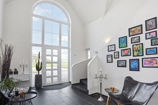 Villa på Galgehøj i Brædstrup - Hall