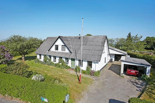 Villa på Birgittelystvej i Brædstrup - Mastefoto