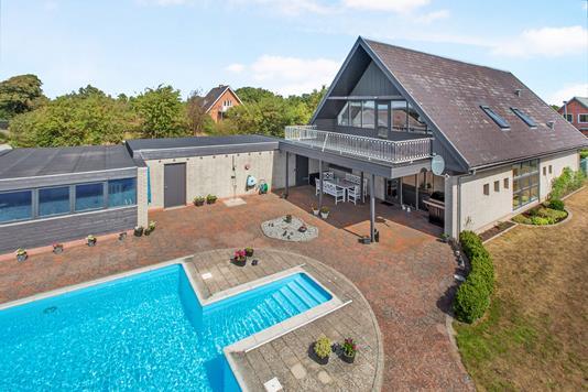 Villa på Plantagevej i Allingåbro - Pool